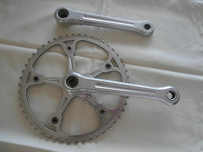 campagnolo track cranks 170mm with campagnolo chainwheel