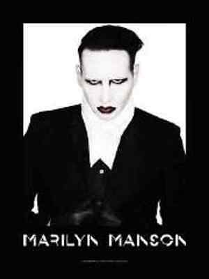 Marilyn Manson Propert Music  Flags Wall Hanger Made In Italy L 626