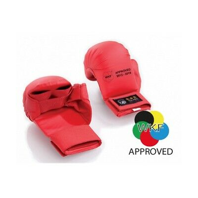 Tokaido Mitts Kumite from competition approved WKF Red article TKB20UAWKF103