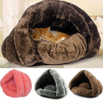 Cat Dog House Puppy Cave Pet Sleeping Bed Mat Pad Igloo Nest New Fashion