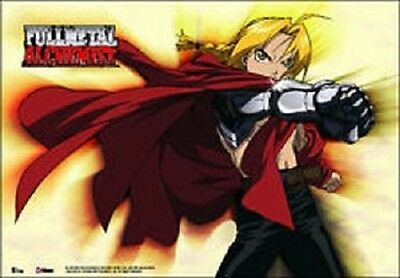 *NEW* Fullmetal Alchemist: Edward Elric Fabric Poster by GE Animation
