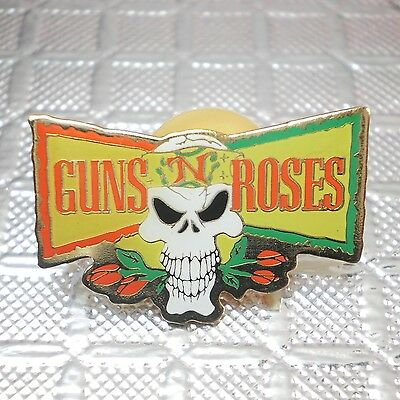 Guns 'n Roses pinback badge button pin The Brockum Collection Official