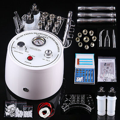 Skin Rejuvenation Diamond Microdermabrasion Vacuum Spray Peeling Beauty Machine