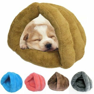 Soft Pet Dog Cat Puppy Kitten House Cave Sleeping Bed Mat Pad Igloo Nest Kennel