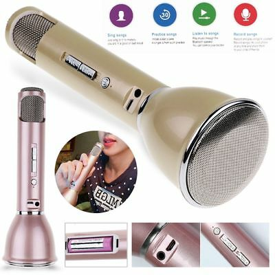 K068 Home KTV Karaoke Microphone Player Speaker Bluetooth For iPhone Tablet