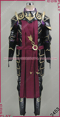 Fire Emblem Marcus Halloween Suit Cosplay Costume S002