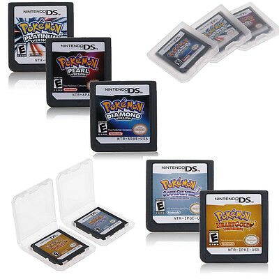 Pokemon Game cartridge HeartGold SoulSilver Version For Nintendo DS/NDS/DSI/3DS
