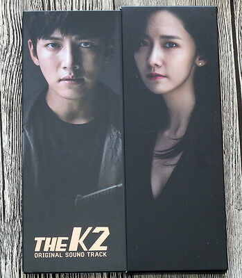 Ji Chang Wook Yoona autographed signed  THE K2 OST O.S.T korean version 112016