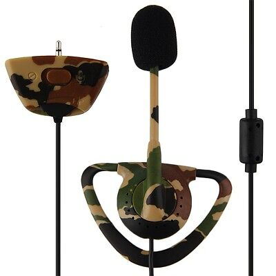 NEW Wired Camo Headset Mic Earpiece Earphone For XBOX 360 Console Gaming P6