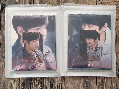 Shinhwa ERIC Autographed 2016 Eric 2 DRAMA photobook new korean version 11.2016