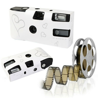 10pcs Disposable Single Use 35mm Film Wedding Bridal Party Camera With Flash