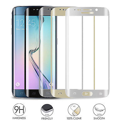 FULL CURVED CLEAR TEMPER GLASS HD SCREEN PROTECTOR FOR Samsung Galaxy Models