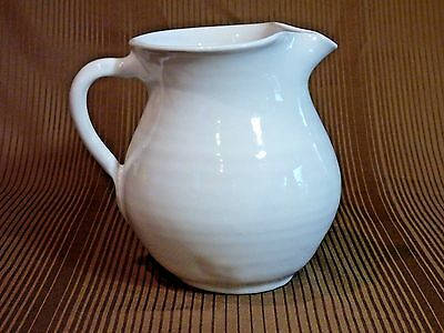 Bybee Kentucky Cornelison White Glaze Pottery Pitcher