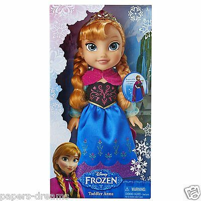 "Disney FROZEN -  Anna Incoronazione  ""Toddler Doll -  DISNEY CM 38"