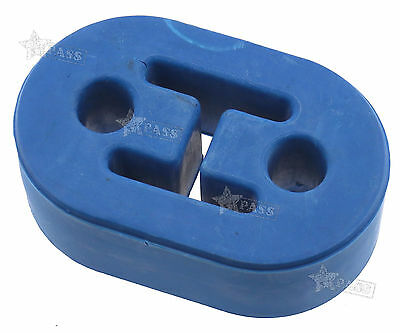 Universal Exhaust Pipe Rubber Mount Hanger Heavy Duty Performance 2 Holes