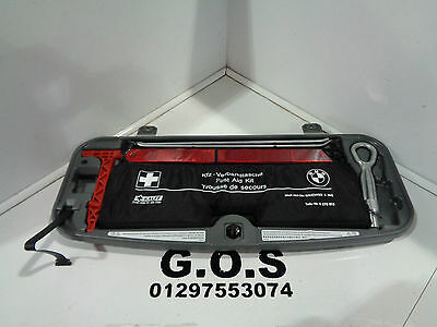 2009-15 Bmw F01 F02 7 Series Boot Mounted Tool And First Aid Kit As Pictured