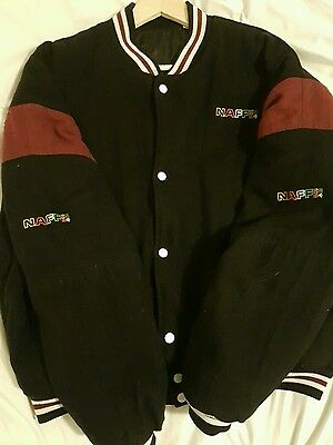 Naff Co 54 Baseball / Bomber Jacket - Rave - Spliffy - 90's - Original Vgc