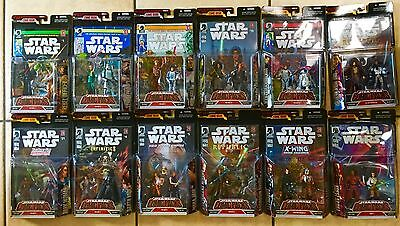 Star Wars Comic Pack Comic And Figures Lot!
