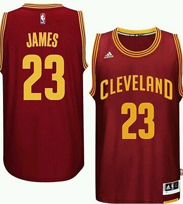 AUTHENTIC LeBron James Cleveland Cavaliers Nba basketball jersey / vest red S