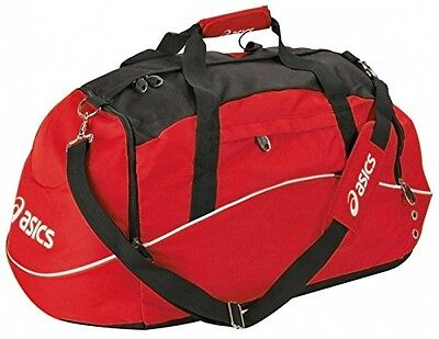 Asics Borsa Small Sports Duffle Bag - Red. Free Delivery