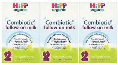 Hipp Follow On Milk - 800g (Pack of 3)