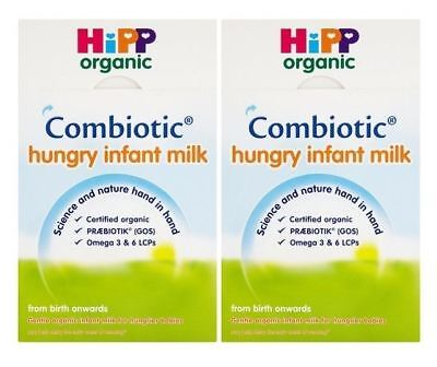 Hipp Hungry Infant Milk - 800g (Pack of 2)