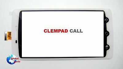 Ricambio Vetro Touch Screen Bianco Clempad CALL 5' 13943 Clementoni