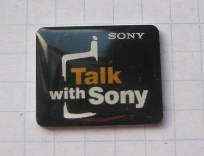 SONY / TALK WITH SONY  ..................Handy / Unterhalung Pin (O9)