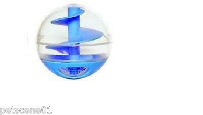 Hagen Catit Cat Treat Ball Toy Blue 51282