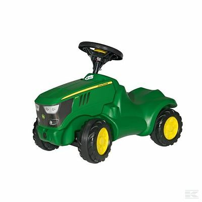 ROLLY TOYS JOHN DEERE 6150R Mini Trac Ride on Push Tractor Green Kids 1 1/2 to 4