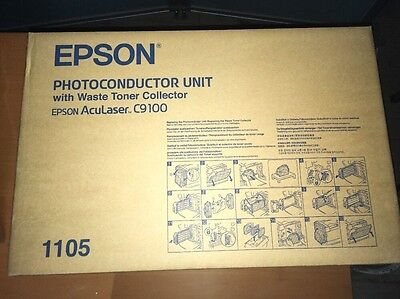 Epson Photoconductor Unit C9100 With Waste Toner Collector. C13S051105. Original