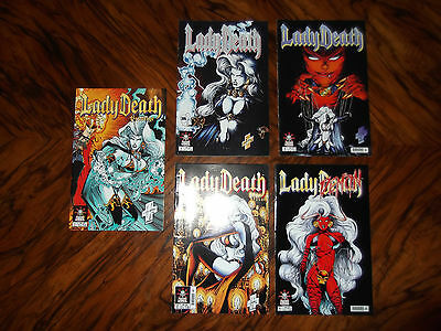Lady Death - Comics