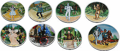"""40th Anniversary """"The Wizard of OZ"""" Plates by Knowles"""