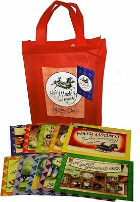Hairy Maclary & Friends 10 Book Set Collection - Lynley Dodd - Free Bag Included