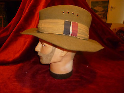 Rare WW2 Royal Australian Air Force Slouch Hat