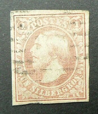 LUXEMBOURG  1852  Y/T n° 2 oblitéré - TB – Guillaume III