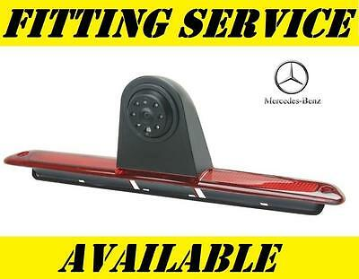 Mercedes Sprinter VW Crafter CCD Reverse Camera Sony Lense Rear View Brake Light