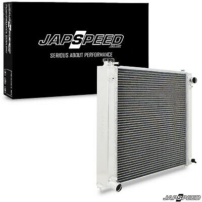 JAPSPEED TWIN CORE ALLOY 55mm SPORT RAD RADIATOR FOR NISSAN 300zx Z32 MANUAL