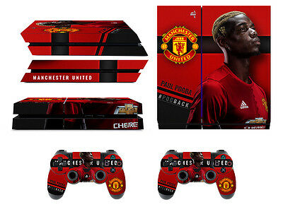 Skin Playstation 4 Paul Pogba Manchester United + Skin Controller Ps4 Stickers