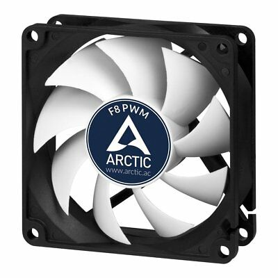 Arctic F8 80mm PWM Rev 2 2000RPM Silent High Performance PC Cooling Case Fan