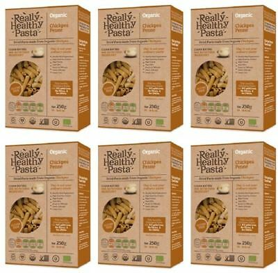 Really Healthy Pasta Chickpea Penne - 250g (Pack of 6)