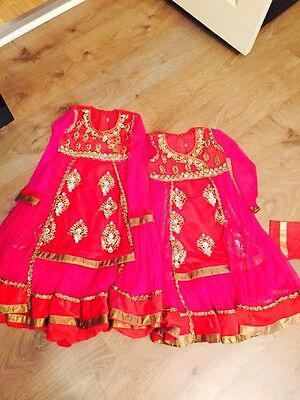 Girls Anarkali Salwar Kameez Dresses