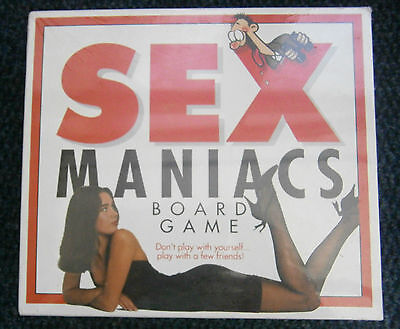 Brand New Sex Maniacs Adult Board Game Paul Lamond Couples Party Hen Do Stag
