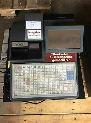 Ladenkasse Registrierkasse Gastrokasse SHARP UP-820 Electronic Cash Register POS