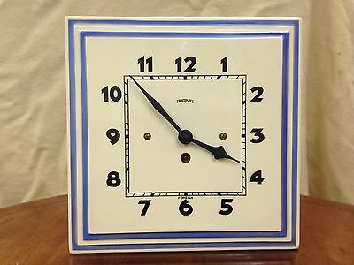 Ingersoll Ceramic Free Standing / Wall Clock
