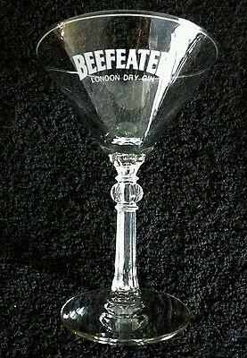 BEEFEATER London Dry Gin Footed Martini Glass 6""