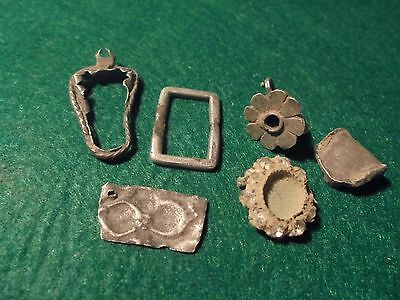 Superb roman silver jewelry, nice decorations,