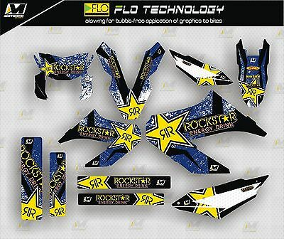 Decals stickers kit yamaha wr125 x 2009-