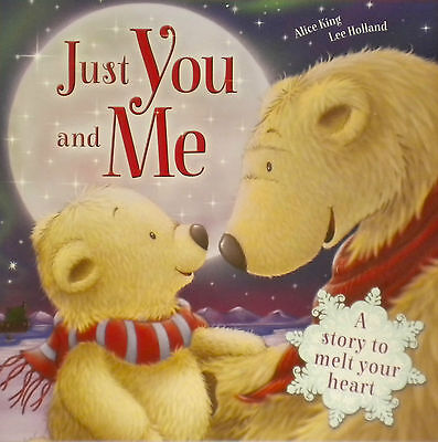 children's story picture book NEW just you and me
