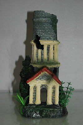 Stunning Aquarium Tower Entrance 12 x 11 x 25 cms Suitable For All Tanks & Orbs